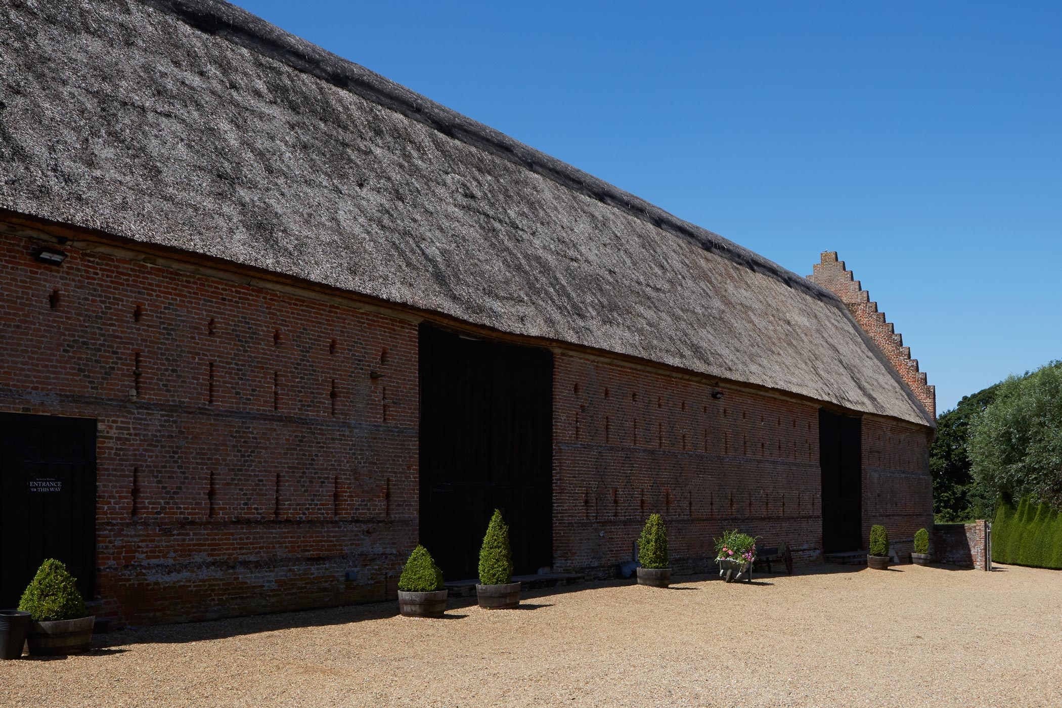 Hales Hall & Barn Norfolk Shoot Location