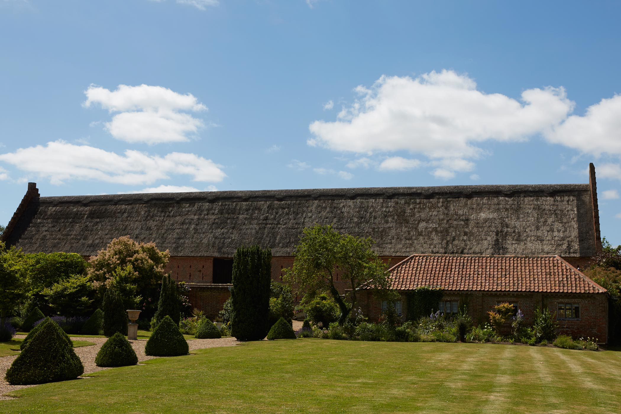 Hales Hall Great Barn Norfolk