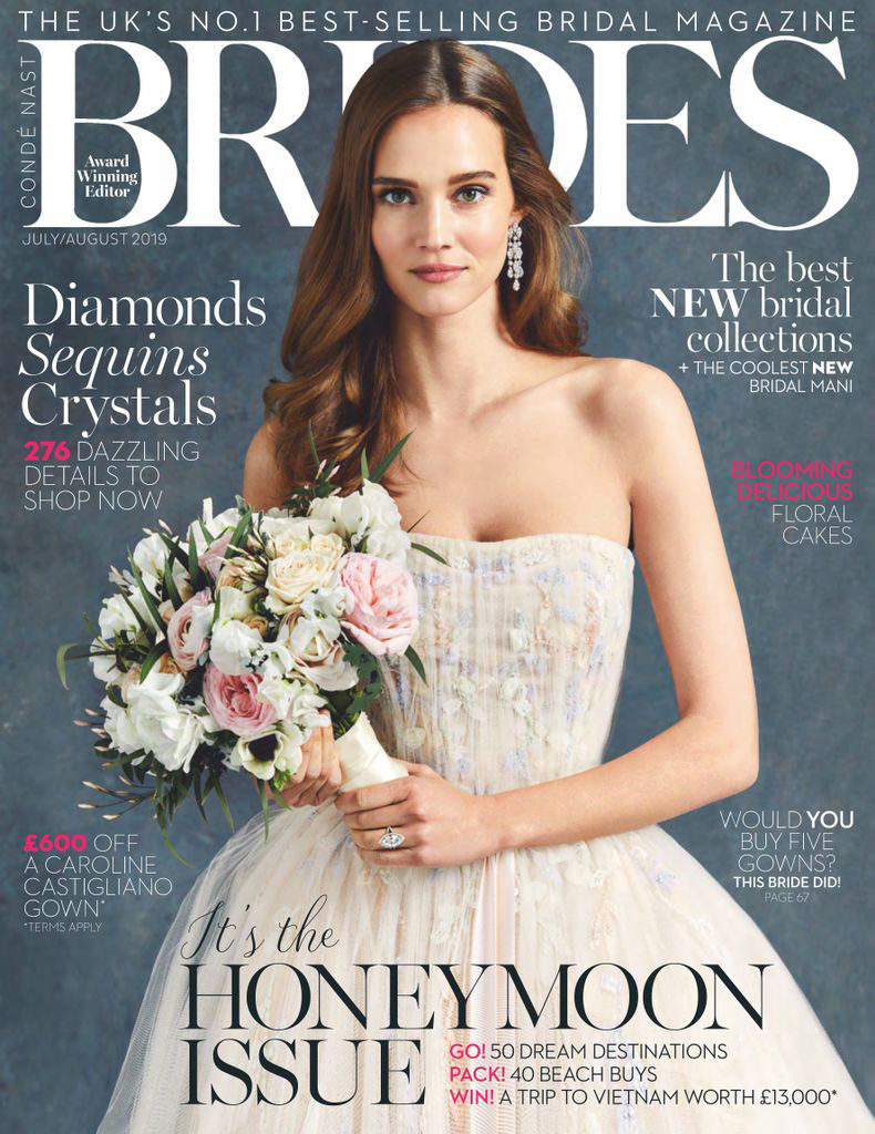 Hales Hall featured in BRIDES Magazine
