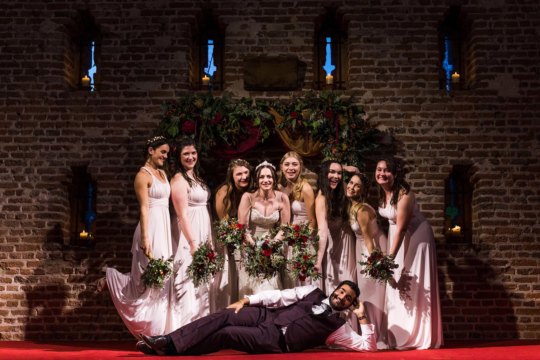 Hales Hall Great Barn Real Wedding