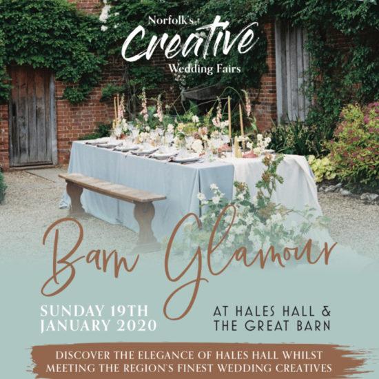 Norfolk Creative Wedding Fair Hales Hall Great Barn