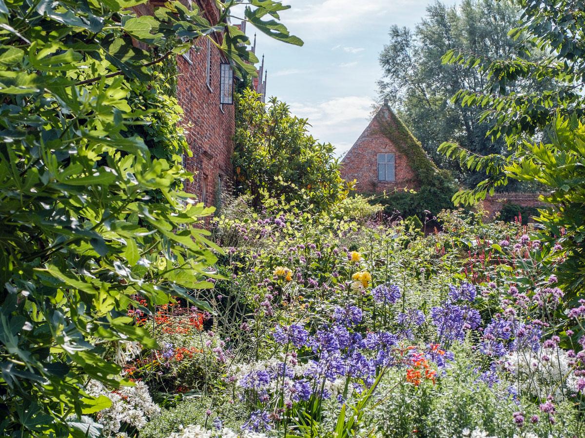 Gardening at Hales Hall