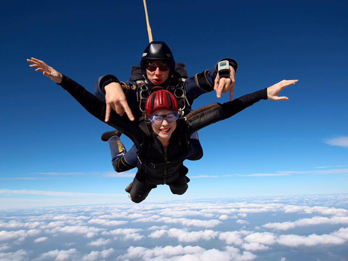 Skydiving at Hales Hall