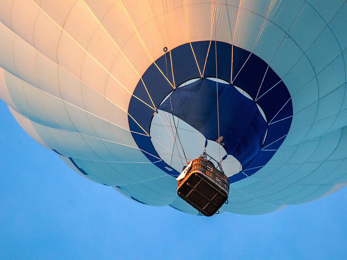 Hot Air Balloon Rides near Hales Hall