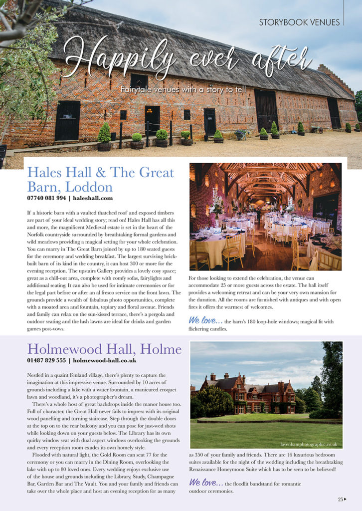 Hales Hall Great Barn in Your East Anglian Wedding