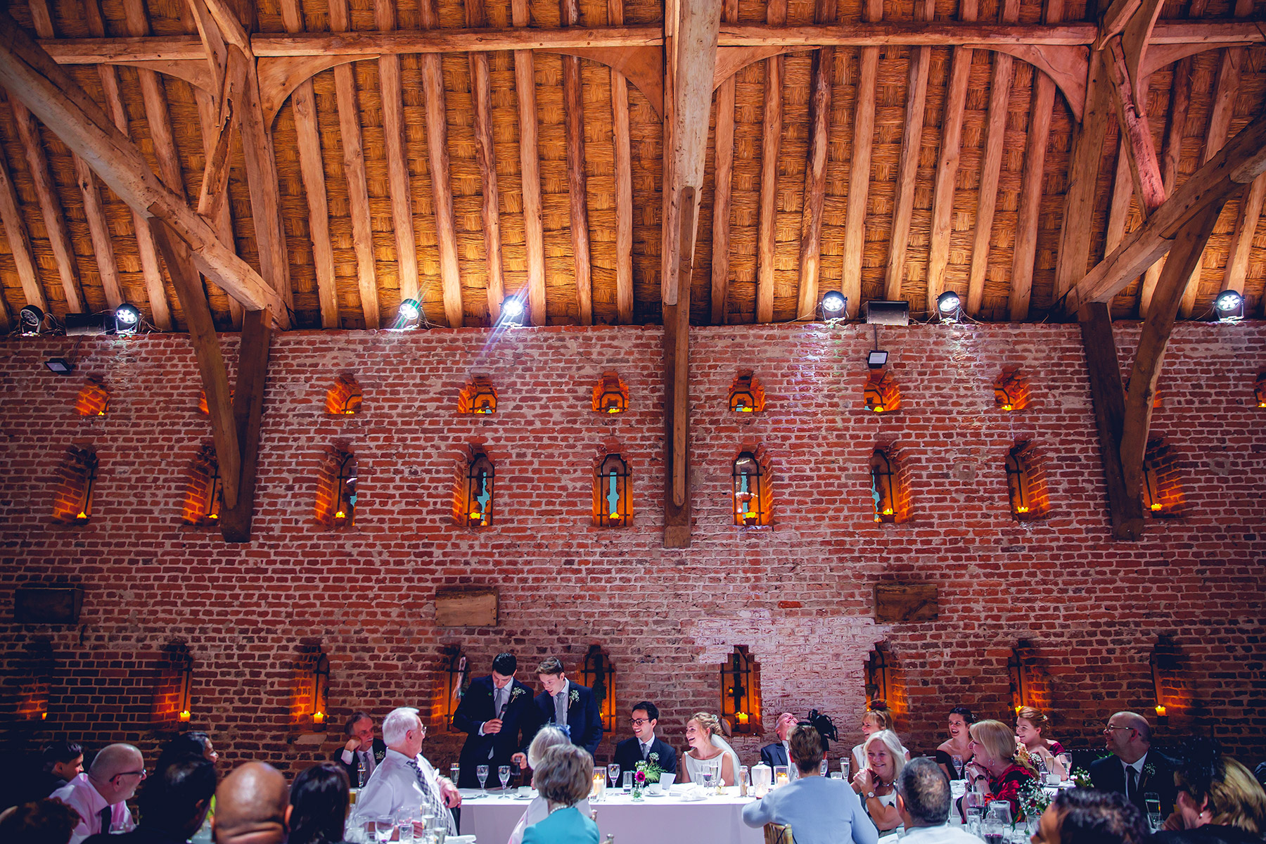 Hales Hall Great Barn Real Weddings