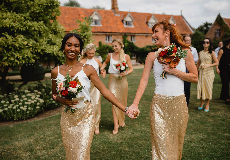 Hales Hall Great Barn Real Weddings